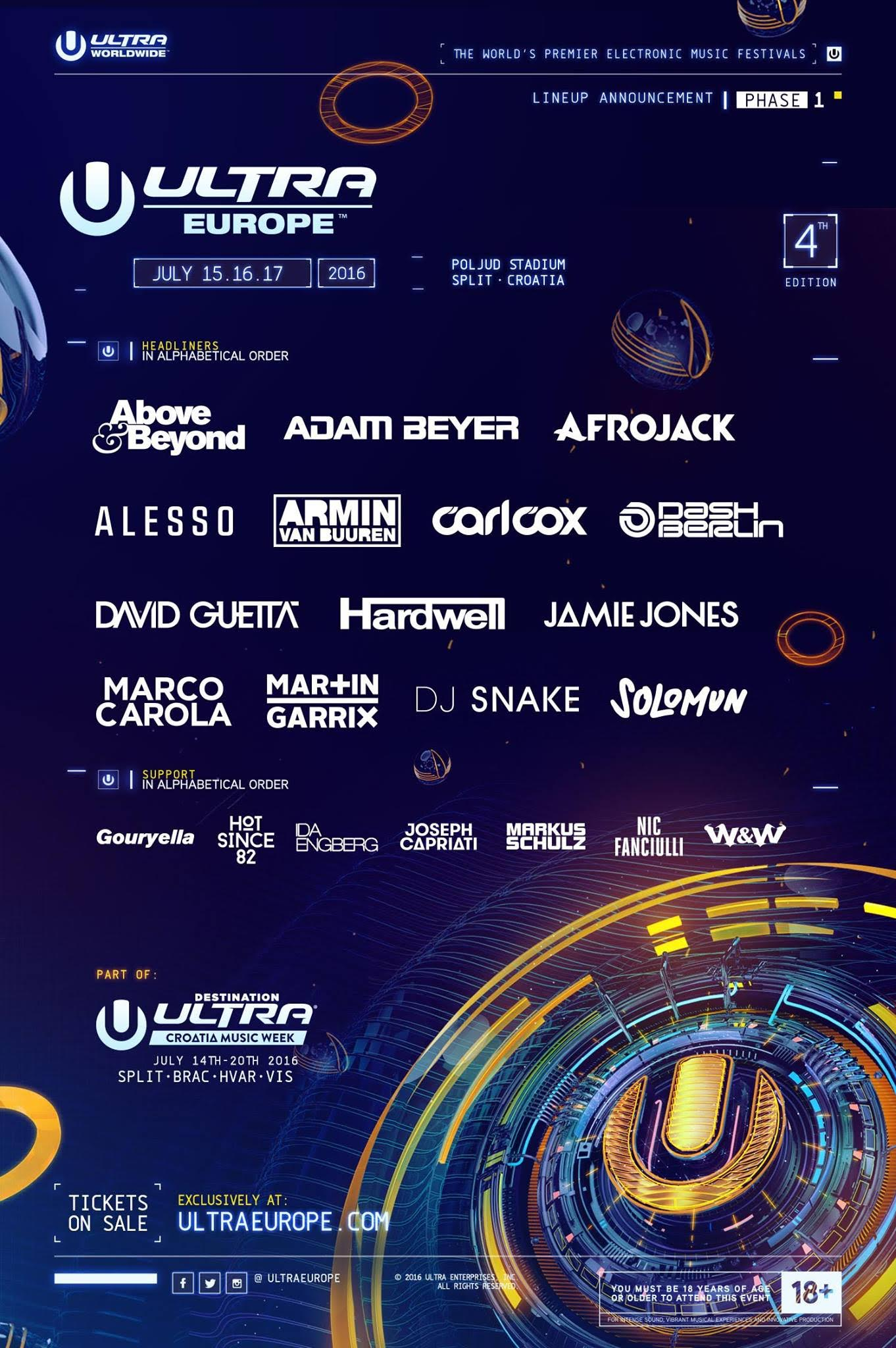 ultra europe phase 1