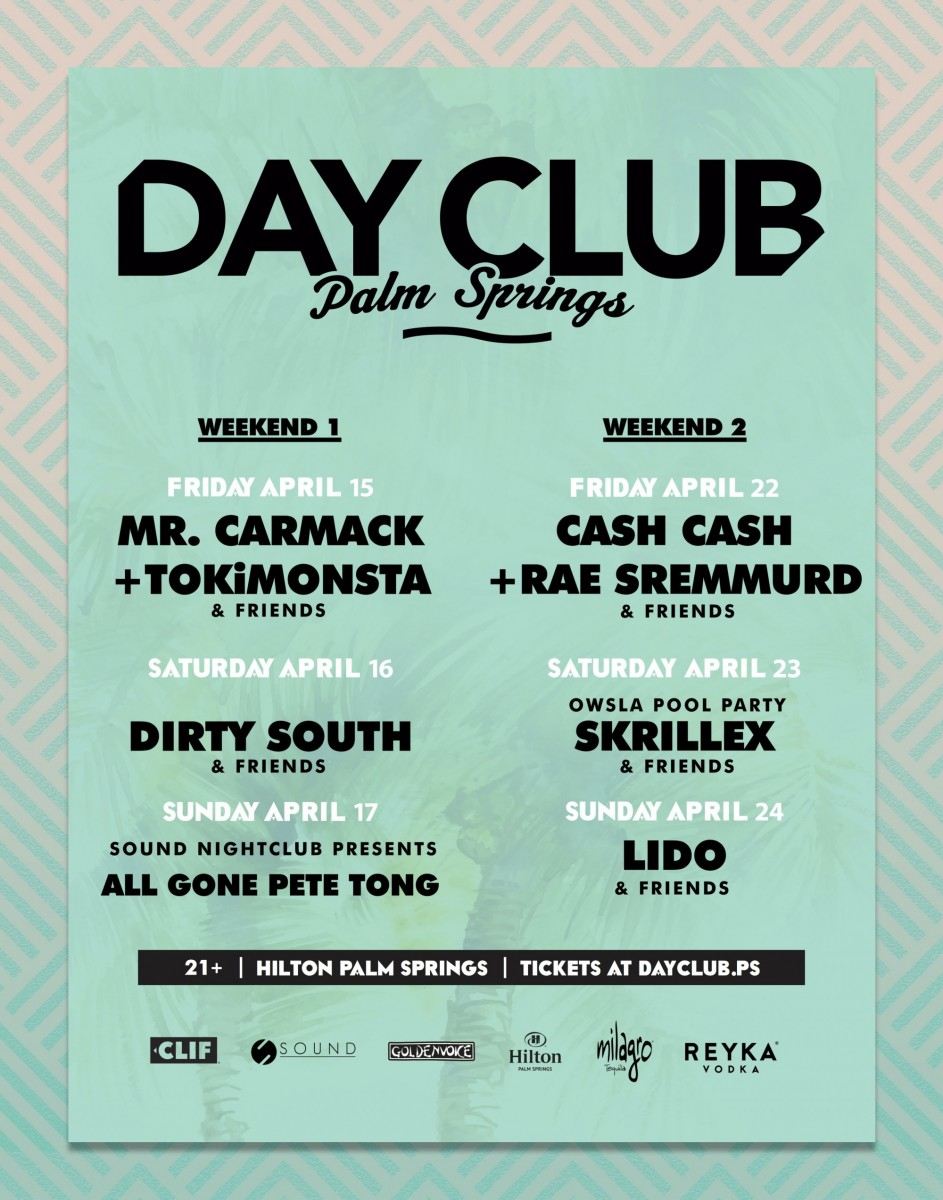 day club palm springs coachella 2016