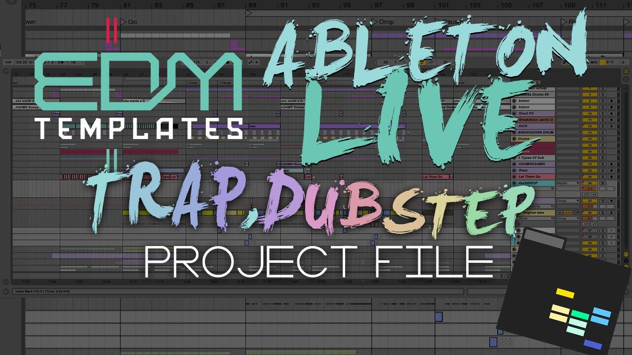 ableton live trap dubstep project template diplo borgore skrillex zomboy snails jack owsla. Black Bedroom Furniture Sets. Home Design Ideas