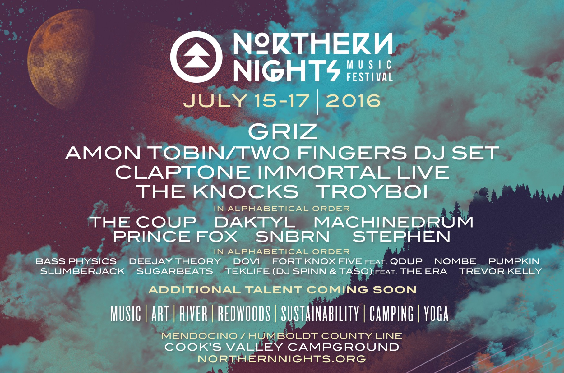 Northern Nights 2016 Phase 1
