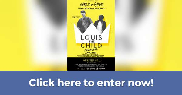 Win a pair of VIP tickets to Louis the Child at Webster Hall on 3/11 (Contest on Hive.co)