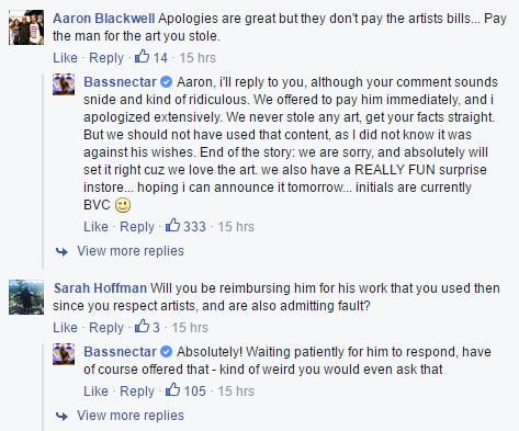 bassnectar compensation response comments_youredm
