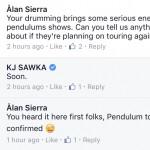 kj sawka pendulum tease