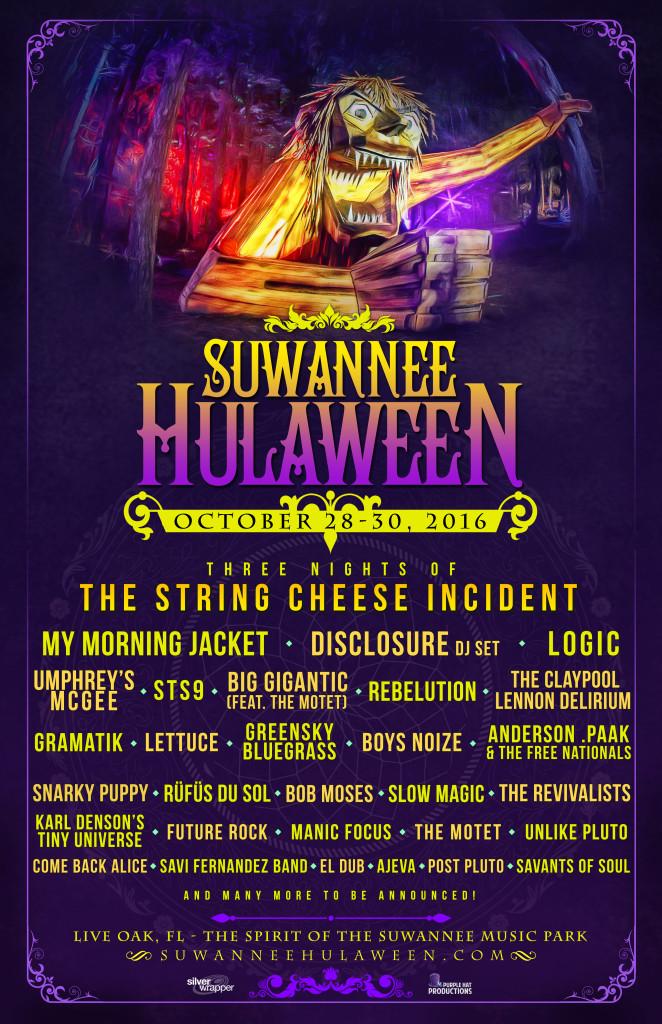 2016 Hulaween Lineup