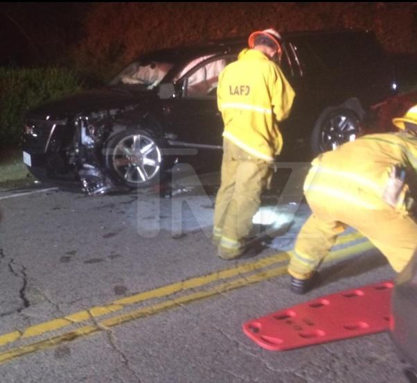 calvin harris car accident