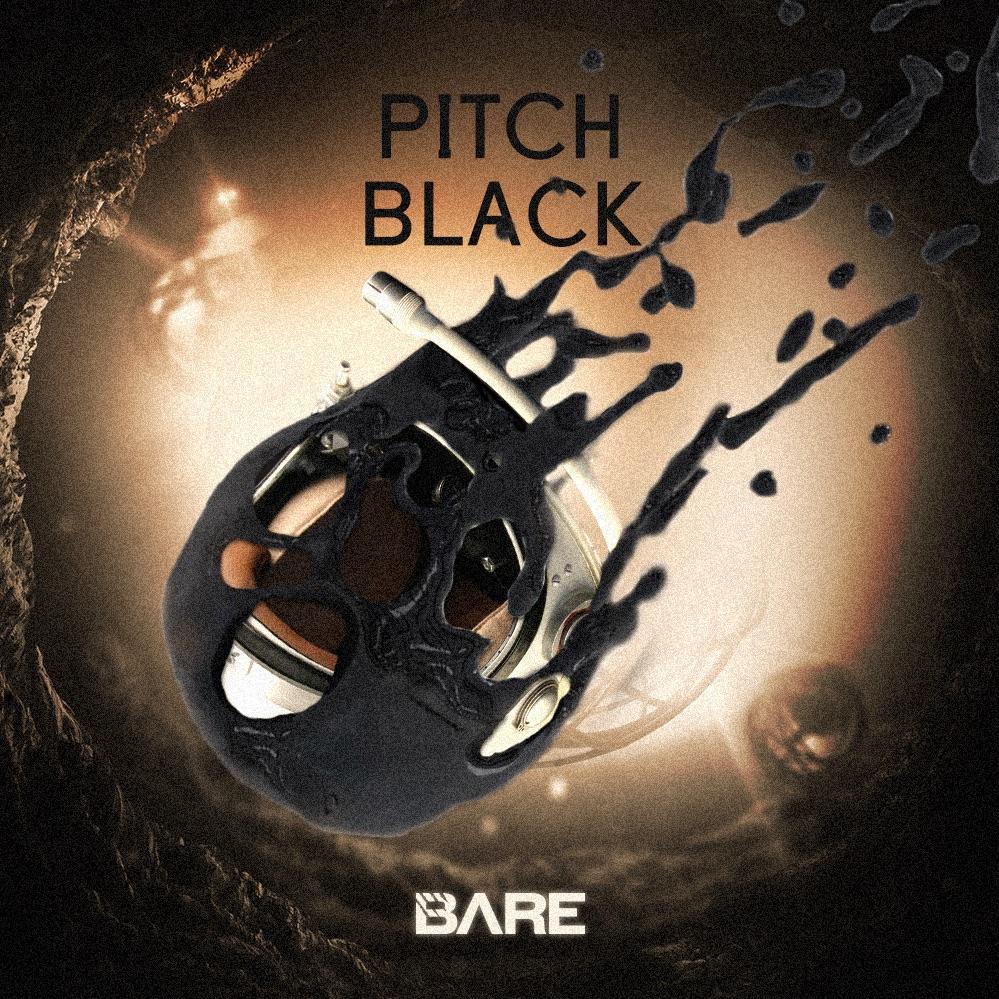 bare pitch black