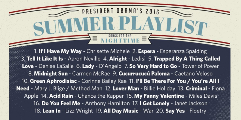 Nighttime Summer Playlist