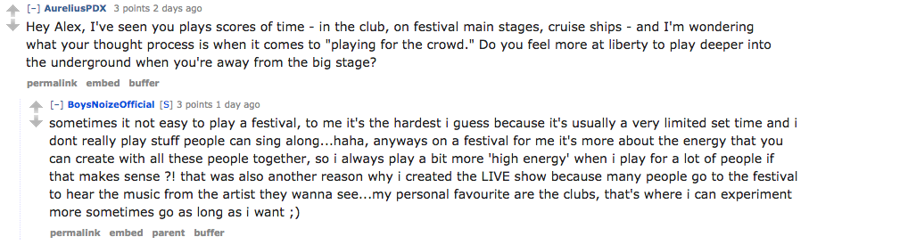 Clubs rule, festivals drool.