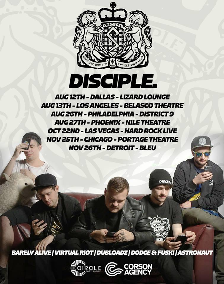 disciple tour NA