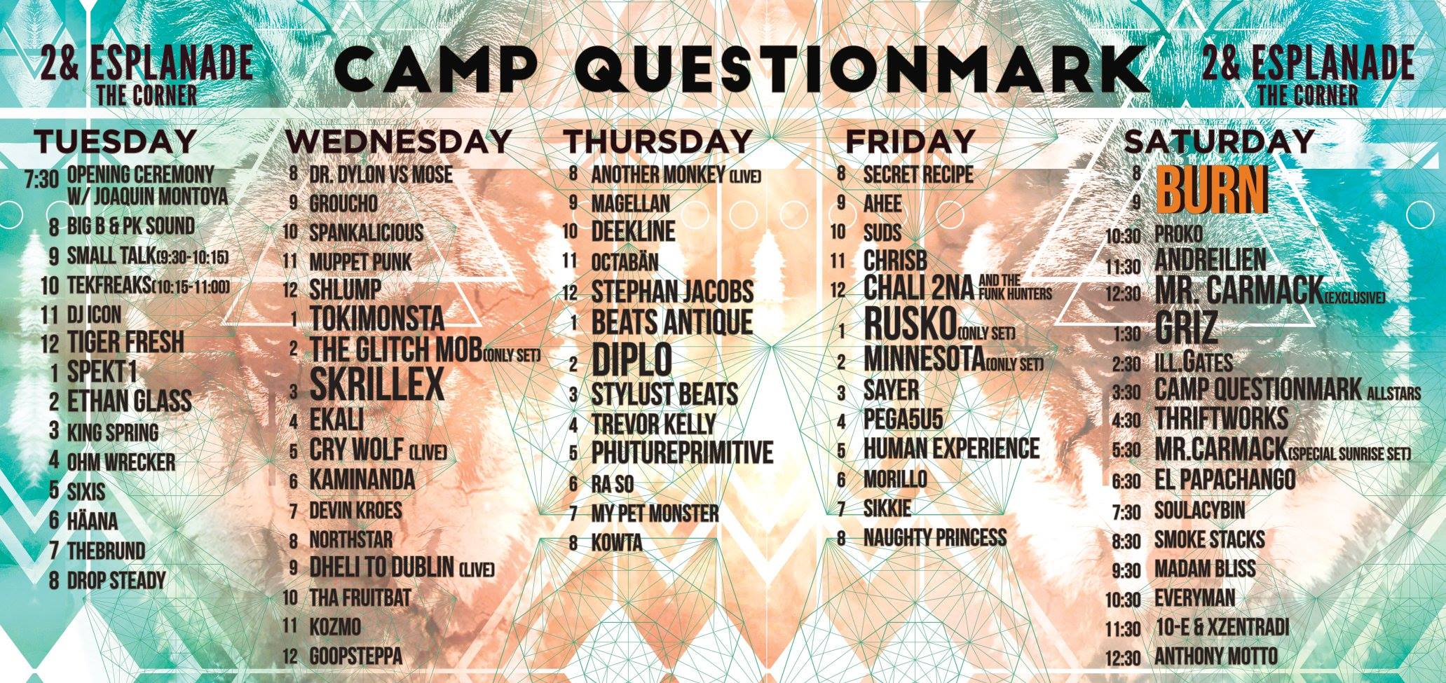camp questionmark burning man 2016 lineup