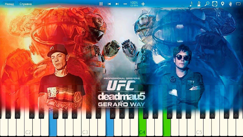 deadmau5 ft. Gerard Way - Professional Griefers [Piano ...