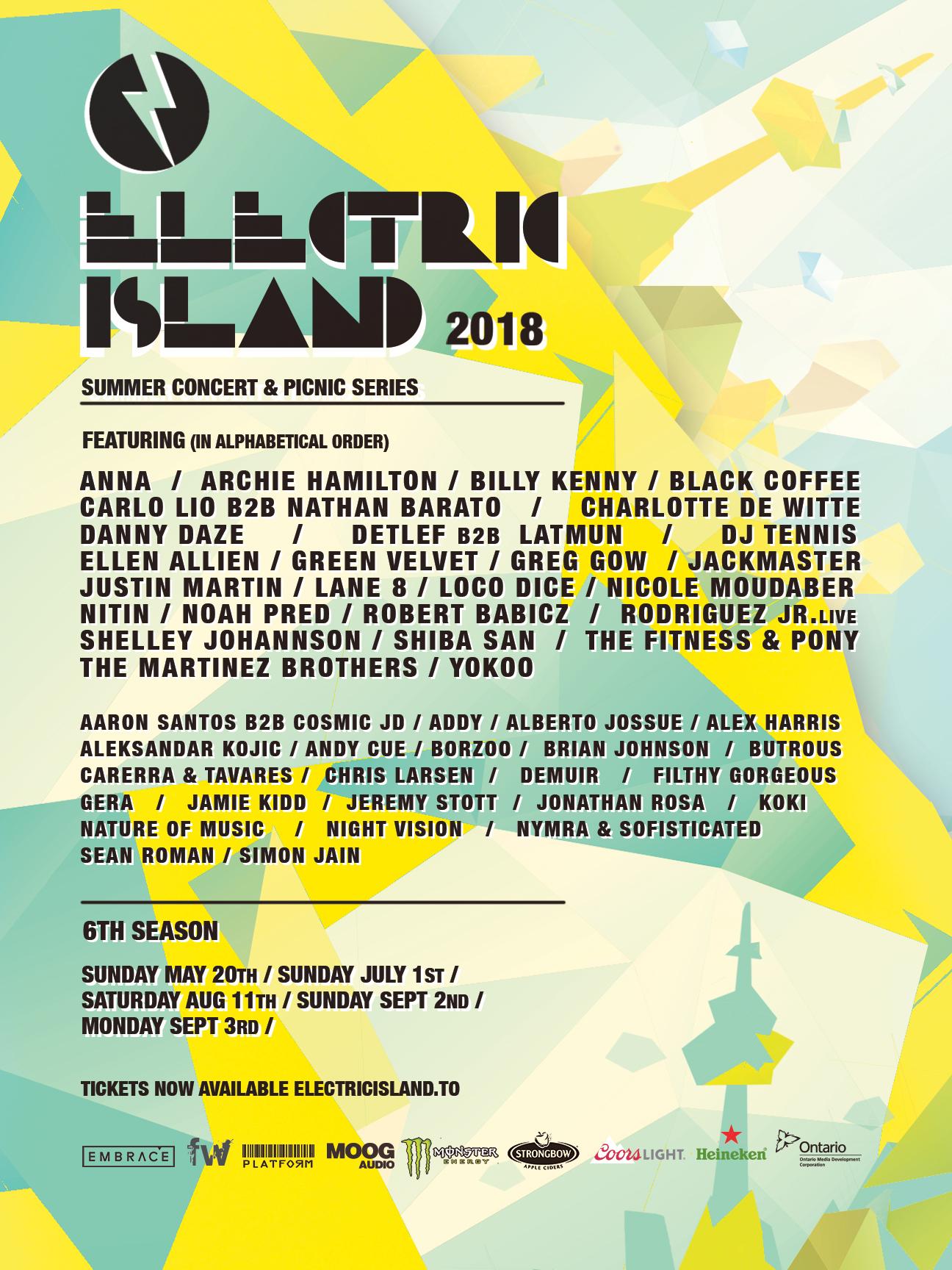 Electric Island 2018