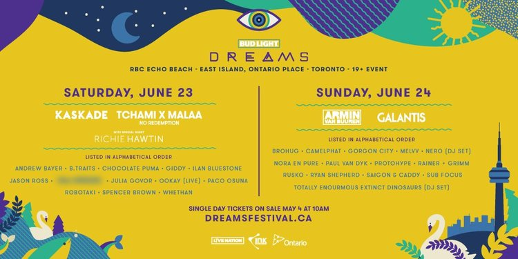 Toronto's Dreams Festival captivates attendees with a striking trifecta of music, art, and atmosphereDreams 2018